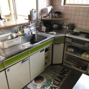 キッチンを新しく!