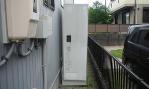 電気温水器からエコキュートへ取替