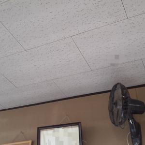 天井に「ライティングレール」を取り付け