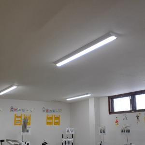 LED照明器具の追加増設しました。