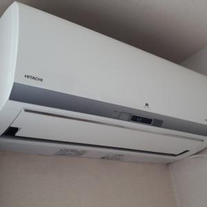 日立の自動お掃除機能付きエアコン