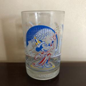 1996年(フロリダ)ディズニーワールド開園25周年記念「ガラスコップ」
