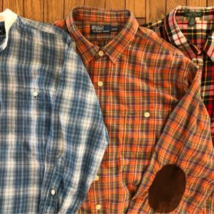 ポロラルフローレン「L/S(長袖)チェックシャツ」