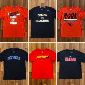 NIKE(ナイキ)「S/S Tシャツ」④ カレッジ&スポーツチーム