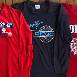 80-90年代「フットボール/長袖Tシャツ」MADE IN USA(アメリカ製)