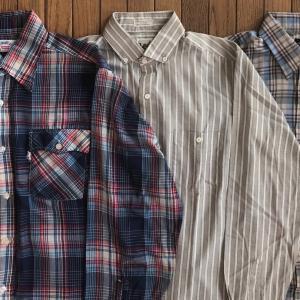80年代リーバイス/リー/ラングラー「L/S(長袖)チェックシャツ」