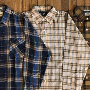 1960-80年代メイシーズ/シアーズ/キャンパス「L/S(長袖)チェックシャツ」