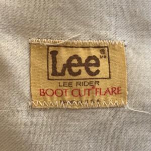 80年代Lee(リー)「ブーツカット(フレアパンツ)」MADE IN USA