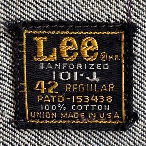 70年代Lee(リー)「Lee101-J デニムジャケット」