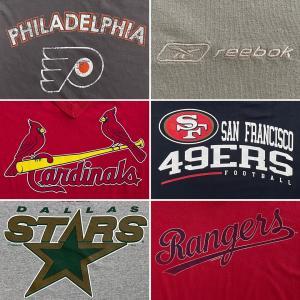 北米4大プロスポーツ「S/S(半袖)Tシャツ」