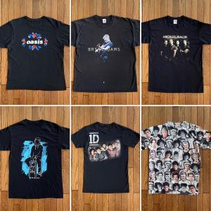 ロック(バンド)Tシャツ「オアシス」「ニッケルバック」「エドシーラン」「1D」