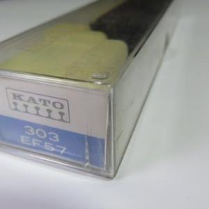 KATO #303旧いEF57モデルの色差し