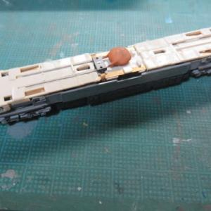 動力ユニットを組み込む グリーンマックス#412 阪神3801形を組む(その14)