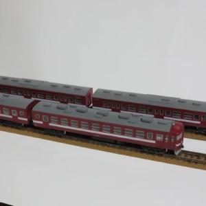 赤い国鉄電車
