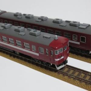 赤い国鉄電車の仕上がり KATO製475系旧北陸色