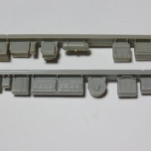床板を組む GM#428近鉄1810もしくは2410系を組む(その4)