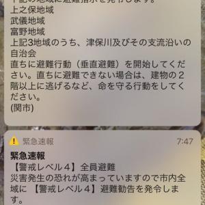 7/8 長良川の様子