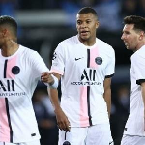 PSG、メッシ&ネイマール&ムバッペの豪華3トップ出場もクラブ・ブルージュと1-1ドロー…CL初戦で勝利はならず CL第1節(関連まとめ)