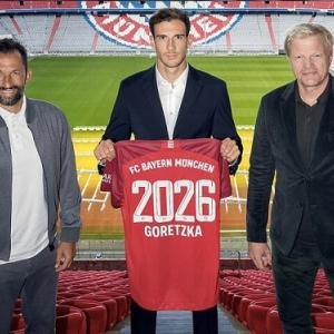 バイエルン、独代表MFゴレツカと2026年まで契約延長を発表「3年間で全てを勝ち取ってきた」
