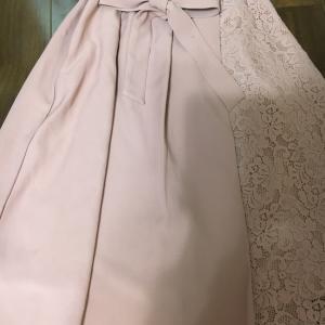 Honeys レーシーなベージュピンクなガーリースカート!