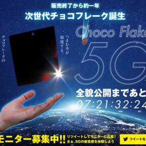 森永チョコフレーク  5G