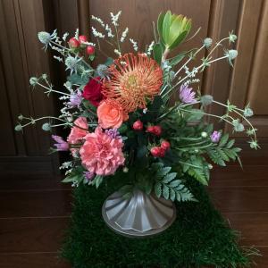 しばらくお別れ お花の教室