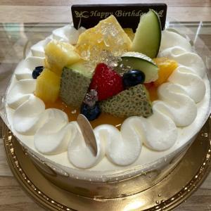 7月限定のケーキでした!