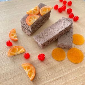 オレンジケーキトッピング