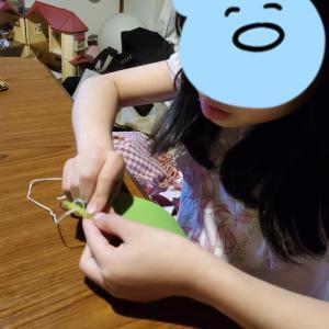 初めてのお裁縫☆