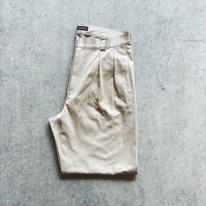 JAKE BELFORT FRENCH WIDE FIT PANTS 入荷!