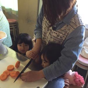 小さい頃からの食育はとても大切。