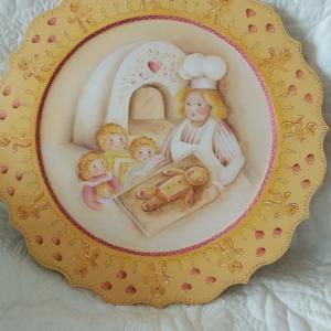 ジンジャーブレッド、クリスマスプレート、ジョーソニア。クッキー作りのバレンタイン