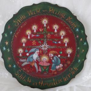 ハイジ イングランド Christmas Plate
