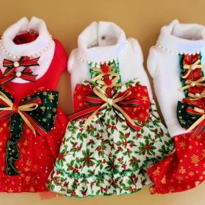 D.W.Bambinoさんのクリスマスドレス2020