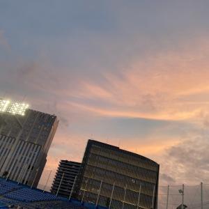 「夕焼け」【5/22神宮】東京ヤクルト1-0横浜DeNA