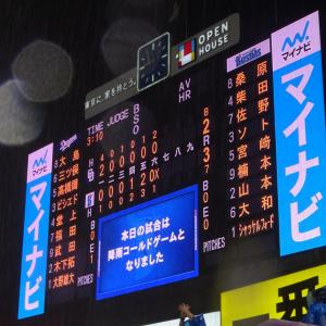 「正々堂々」【6/29神宮】横浜DeNA3(6回降雨コールド)2中日