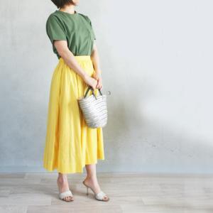 【本日21時から!】春色スカートとTシャツ販売開始です♪