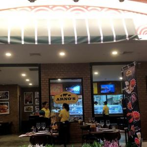 ステーキで有名なARNO'Sであえてパスタを食べる。