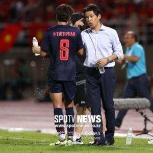 韓国メディア:西野朗タイ代表監督がパク・ハソンを警戒…ベトナムの全試合にコーチ派遣