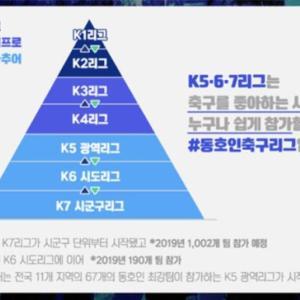 韓国メディア:大韓サッカー協会がセミプロの3・4部リーグを発足、7部まで続くディビジョンシステム完成へ