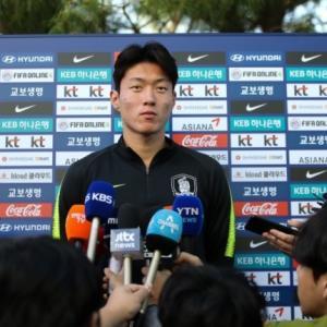 韓国代表ファン・ウィジョ「フンミン-ウィジョ-ヒチャンが亜最強の組み合わせ?そうですか。はは」