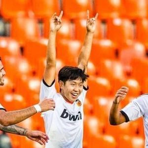 韓国メディア:バレンシアのイ・ガンイン劇場ゴールにファン歓呼「久保より卓越」…欧州注目の理由ある