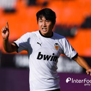 韓国メディア:イ・ガンインは低評点で惜しい活躍…バレンシアの競技スタイルは正解と言えるのか?