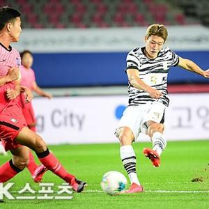韓国A代表vs五輪代表、兄弟対決は2-2の引き分け…「後半バランスが崩れた」「50点も与えにくい」