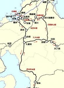 1990年春・九州一周の旅【5】寝過ごし連発で崩れる行程
