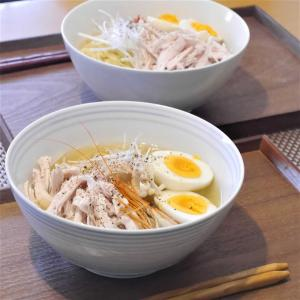 【うちごはん】札幌限定えびだしで!ねぎ鶏塩ラーメン by 茅乃舎