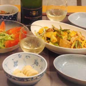 【うちレシピ】オーブンにおまかせ★鶏ももとカラフル野菜のグリル