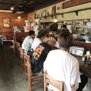 追風丸 大謝名店@醤油ラーメン+半チャーハンセット1,080円 あれっ値上げしてるし!!