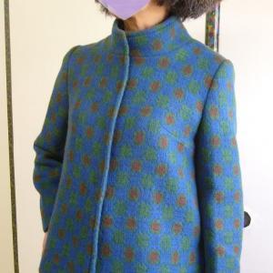 Deflected double weaveのジャケット完成