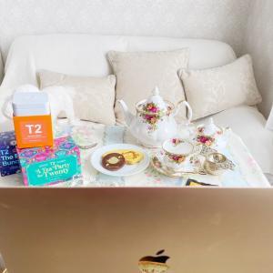 優雅に開催❤️オンラインお茶会❤️